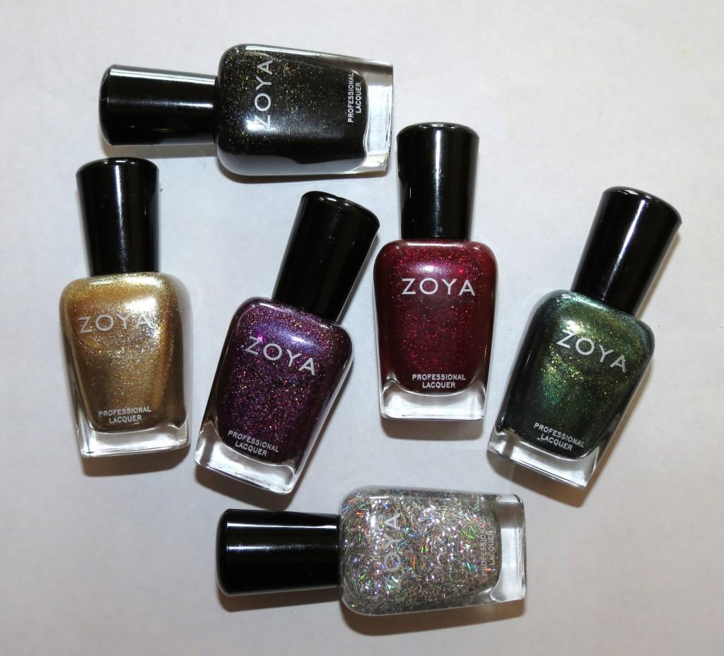 Winter Nail Polish: Zoya ORNATE Holiday Winter Nail Polish Collection Swatches