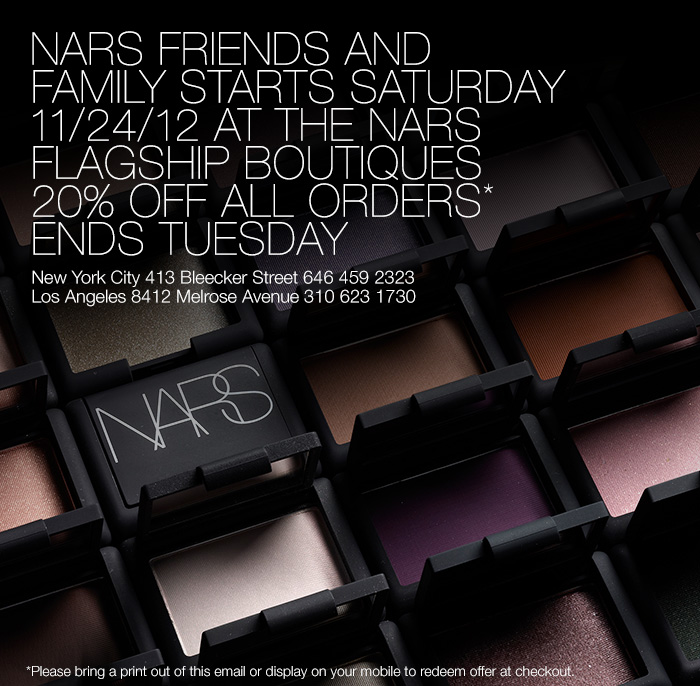 Active NARS Promo Codes & Deals for October 12222