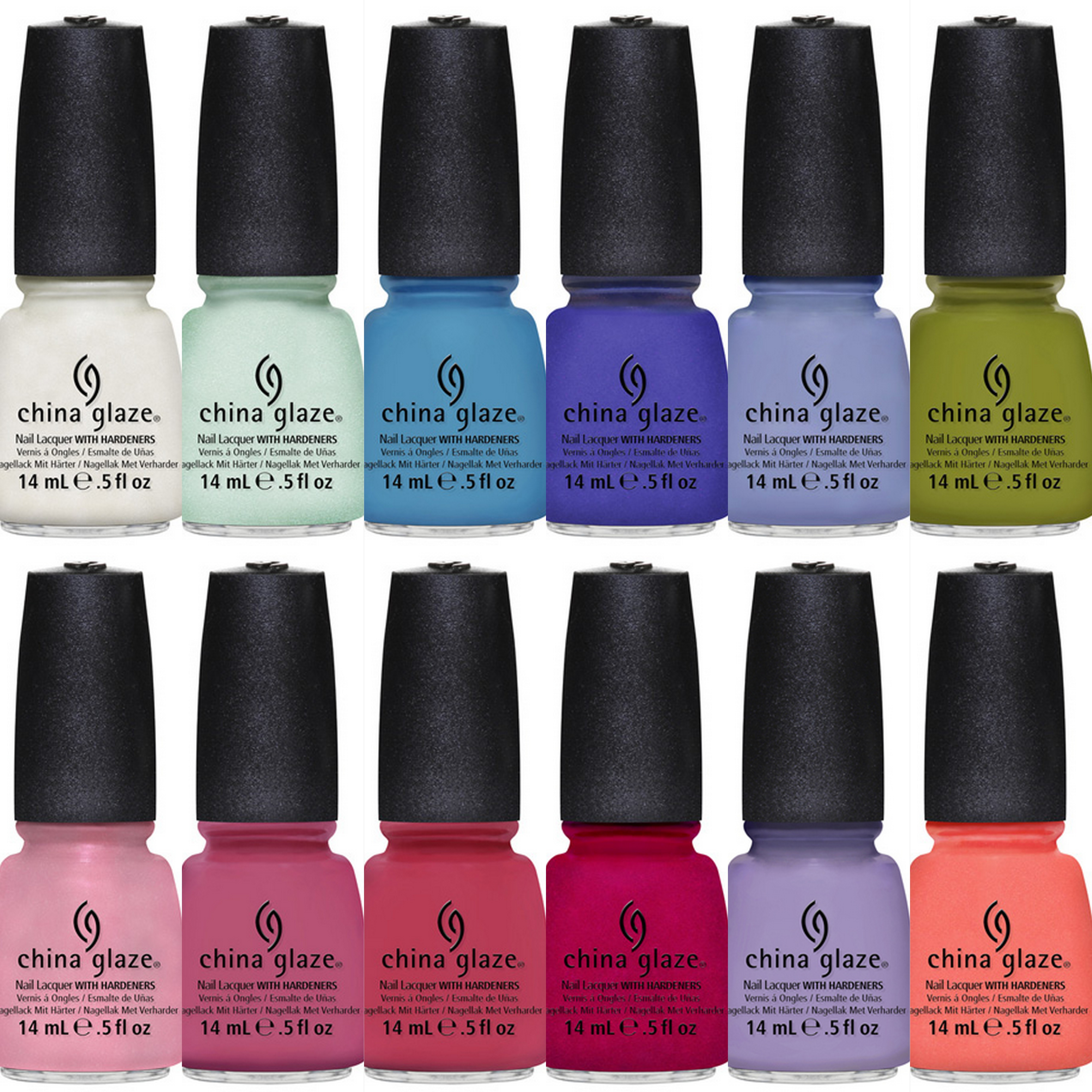China Glaze Nail Lacquer Invites You to Visit the Avant Garden. Pictures1