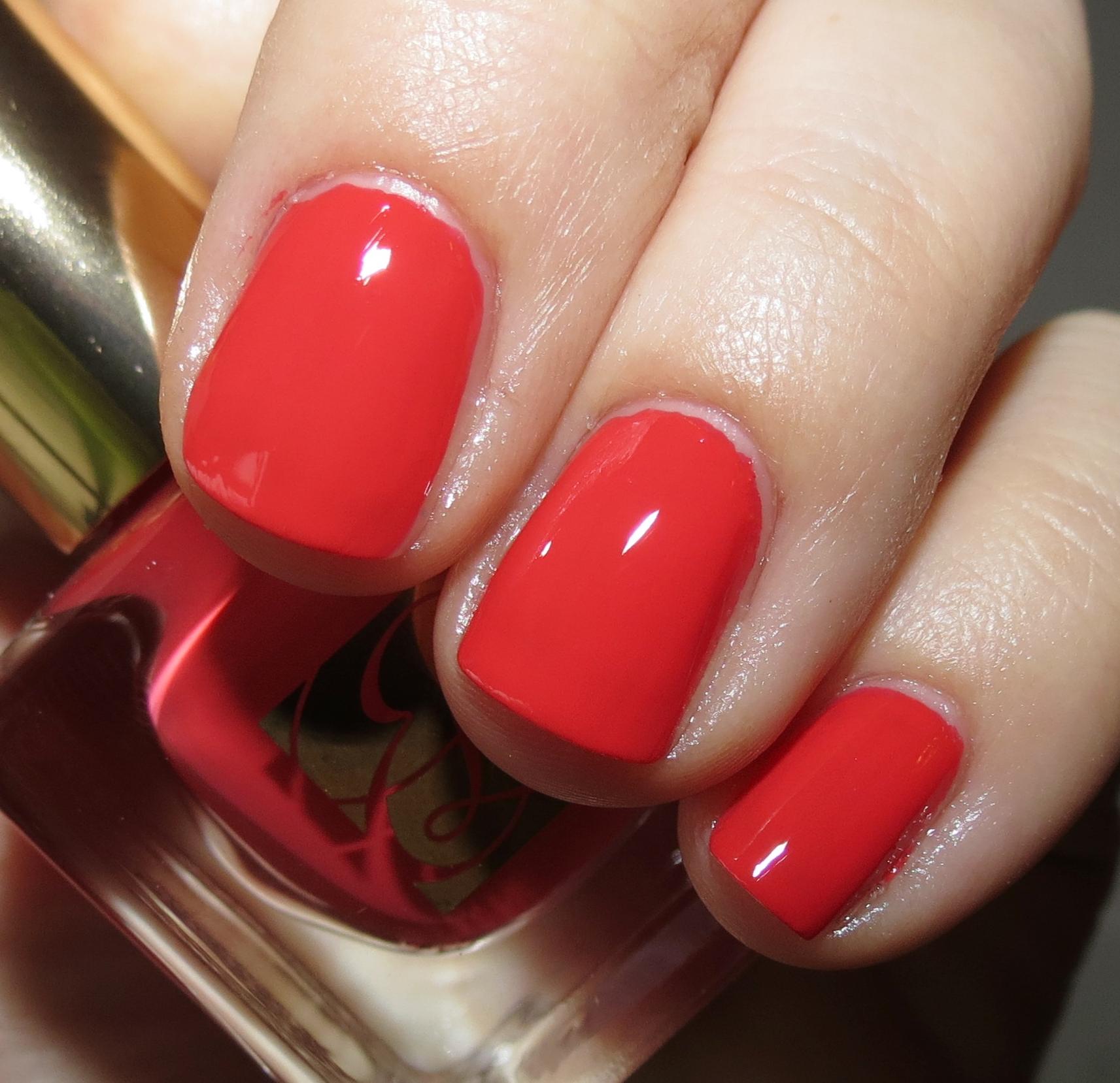 Estée Lauder HOT SPELL Pure Colour Nail Lacquer Swatches & Review ...