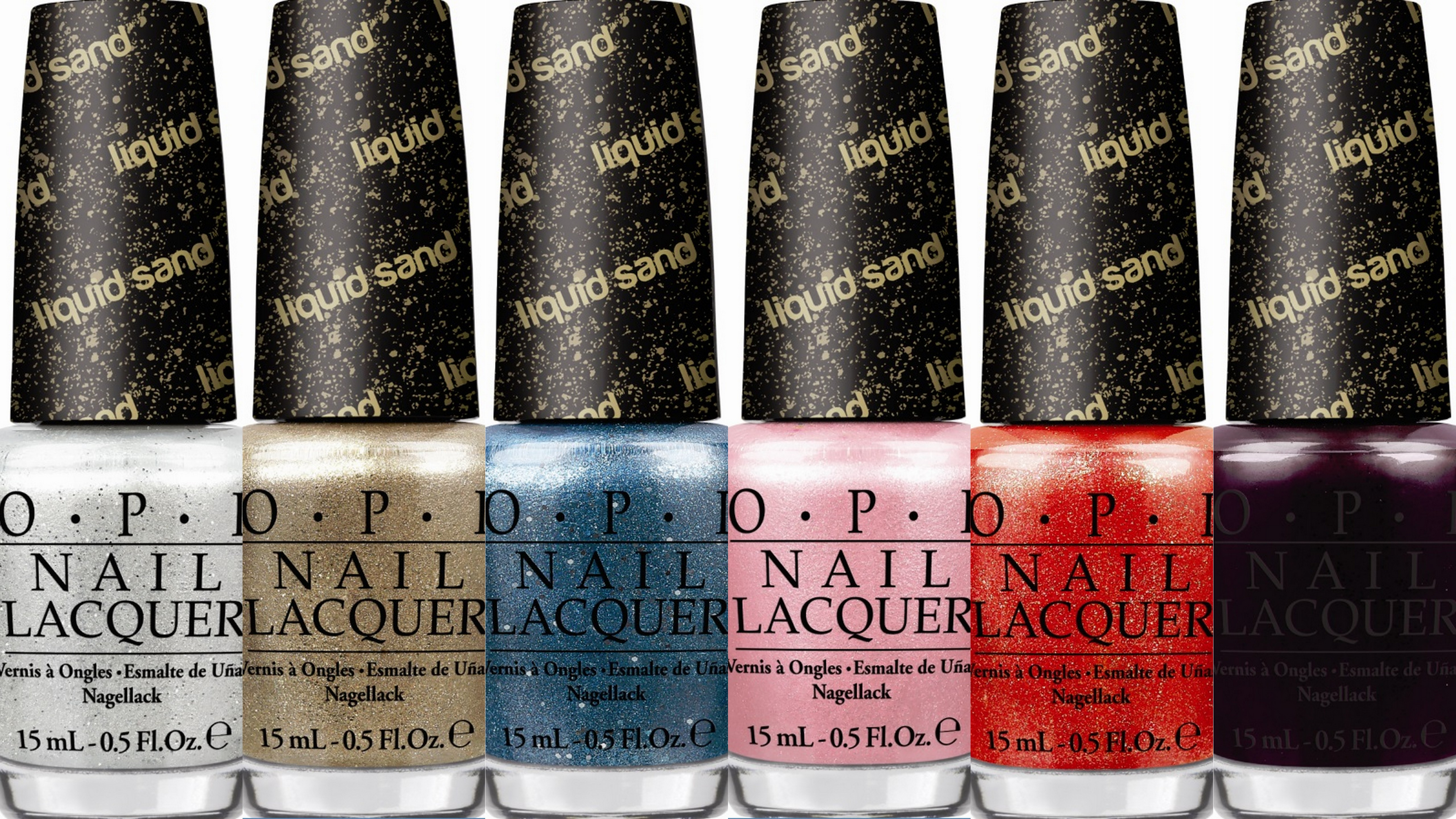 OPI Joins Bond 007 to Release Six New Revolutionary Liquid Sand ...