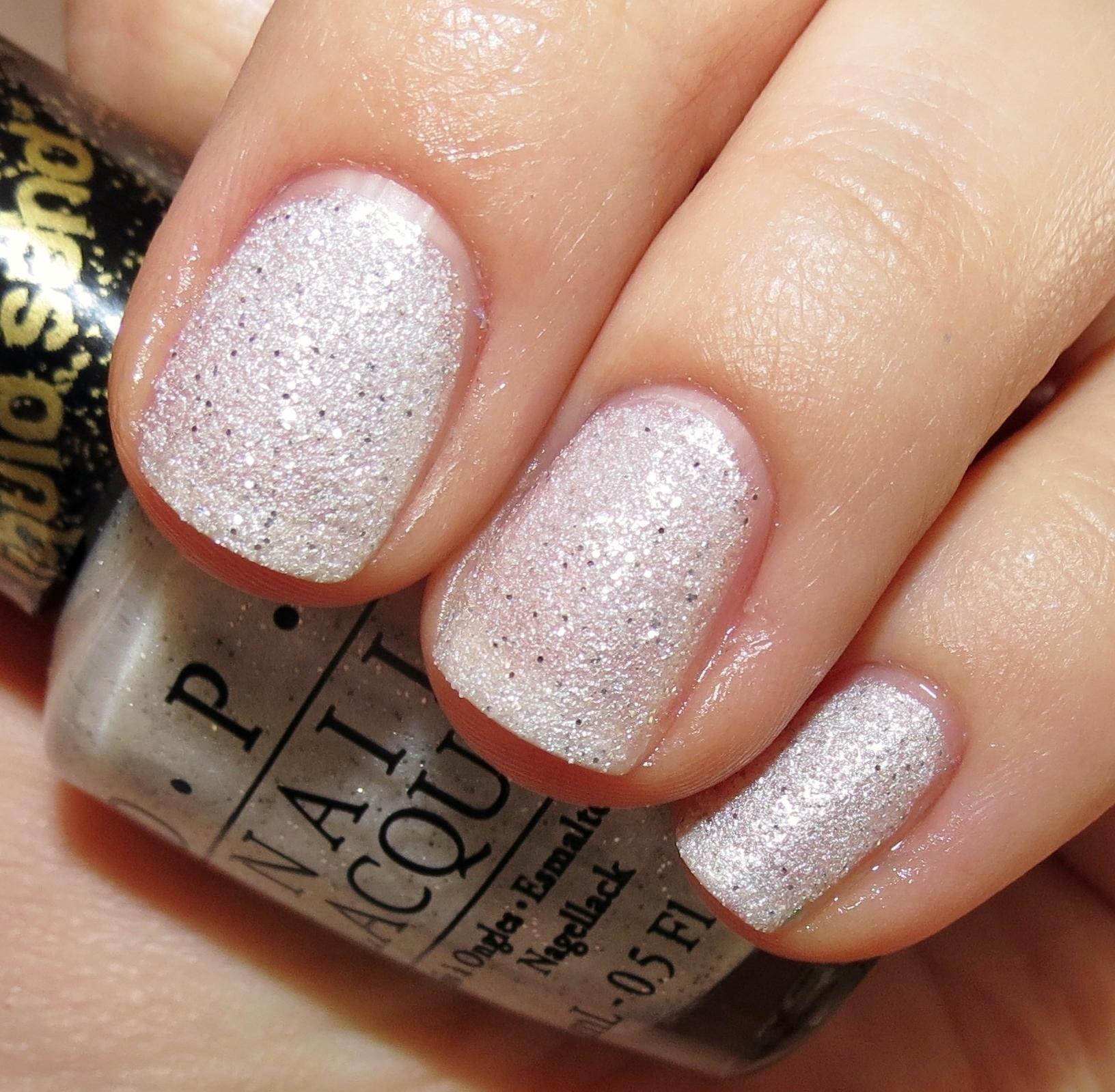 bond girlsopi liquid sand™ nail polish swatches & review