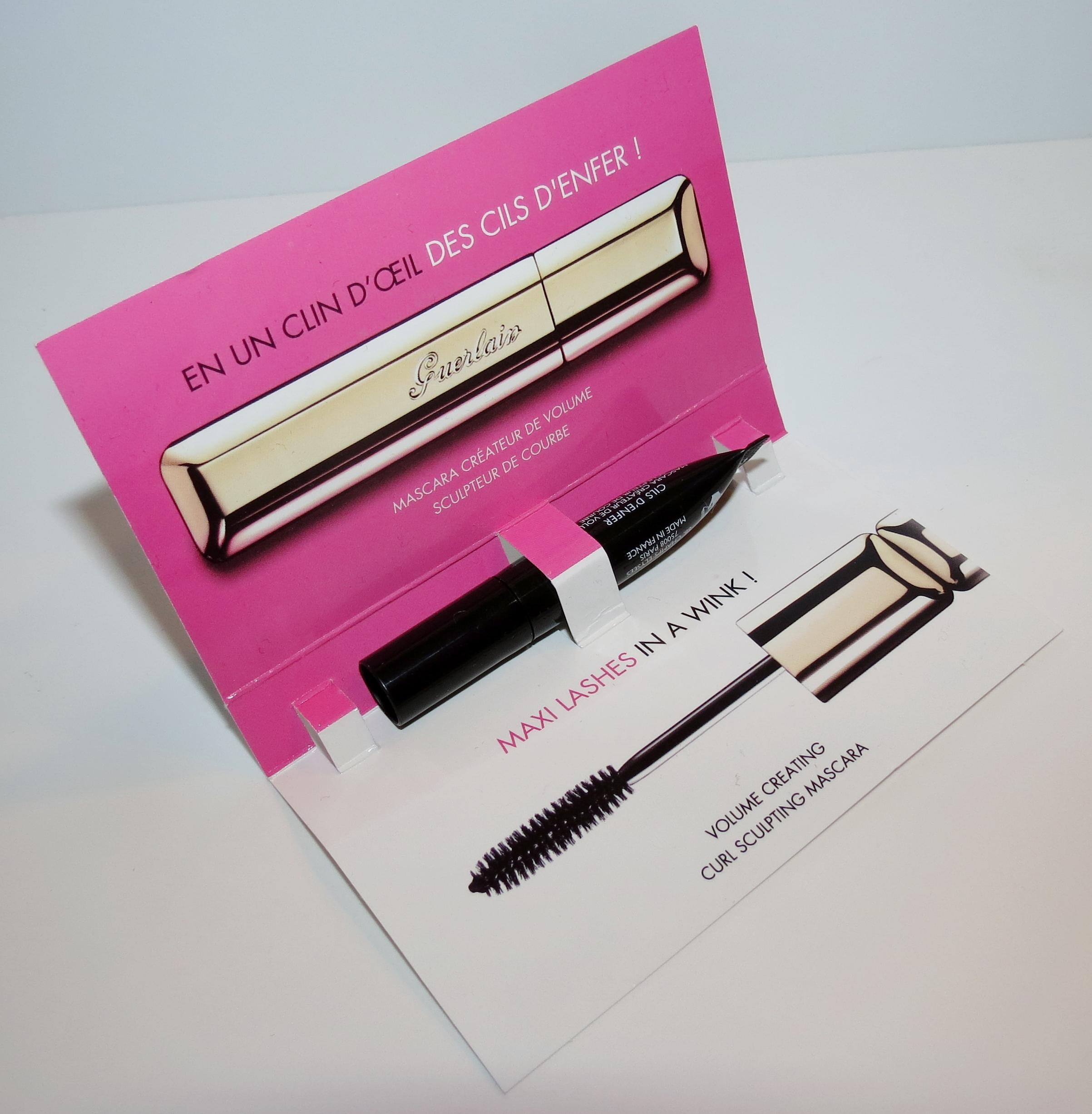 Guerlain Cils D Enfer Maxi Lash Mascara Swatches Review Blushing Noir