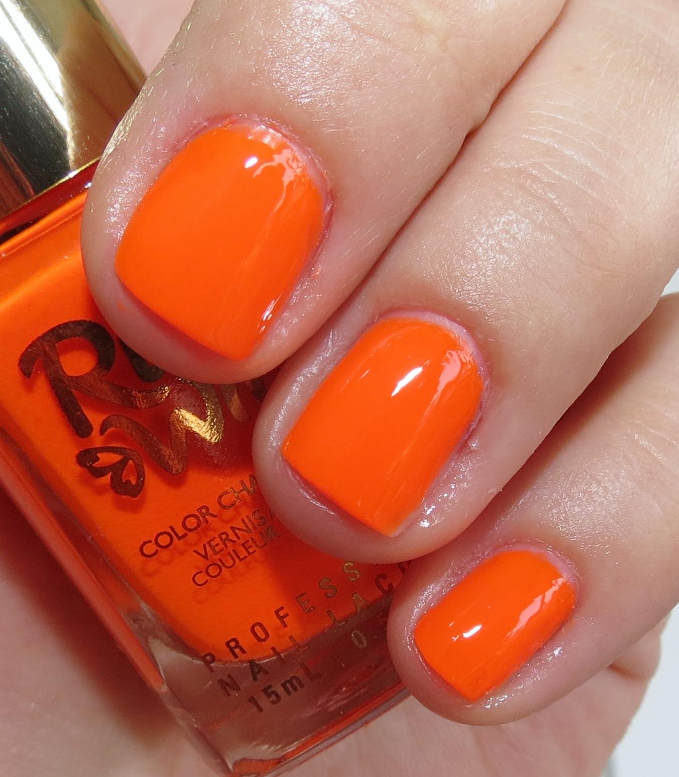 Ruby Nail Polish: Ruby Wing Summer Love & Groupie Color Changing Nail Polish