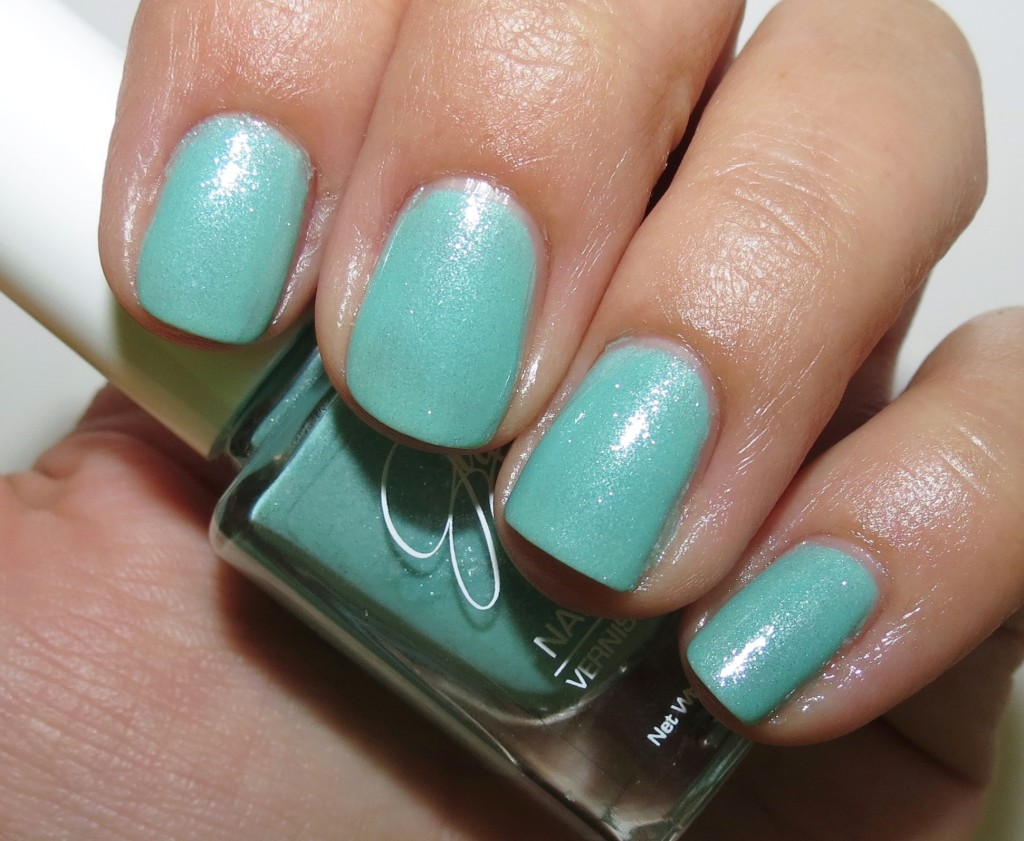 Jesse's Girl Julie G Shark's Cove Nail Polish #mintmanisfortaliajoy