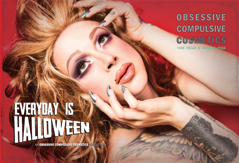 Obsessive Compulsive Cosmetics Everyday is Halloween Limited Edition Sets