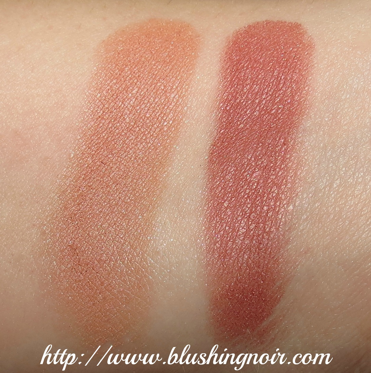 MAC Stylish Me, Barefaced Powder Blush Swatches & Review - Nudes ...