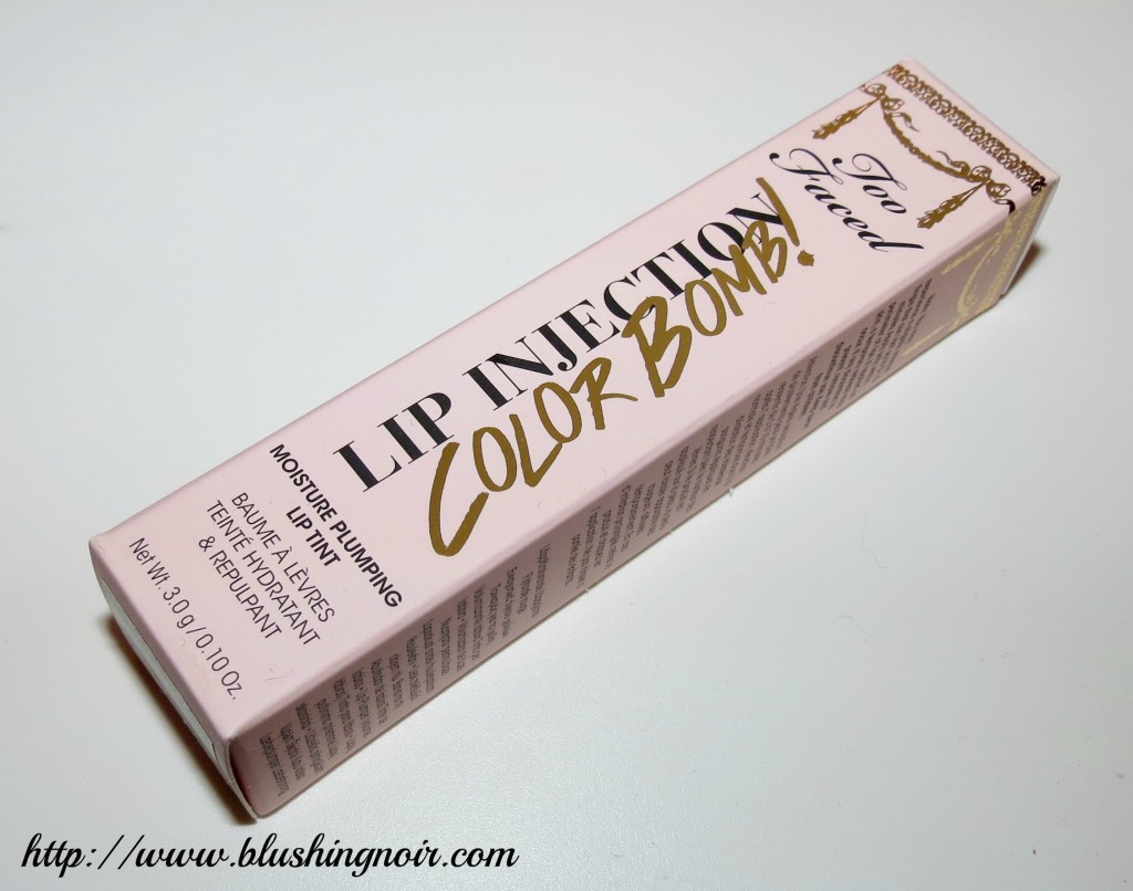 Too Faced Color Bomb Packaging