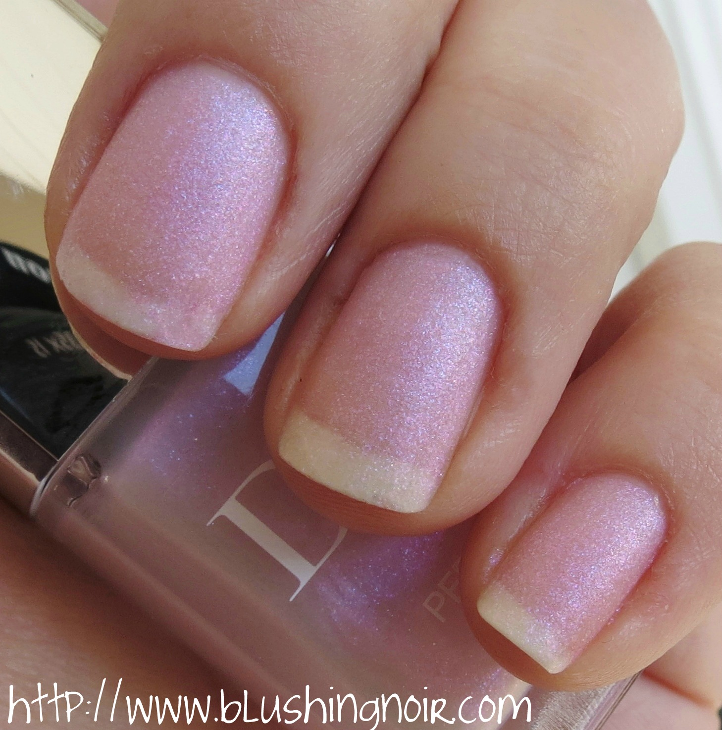Dior 187 PERLE Le Vernis Nail Polish Swatches & Review