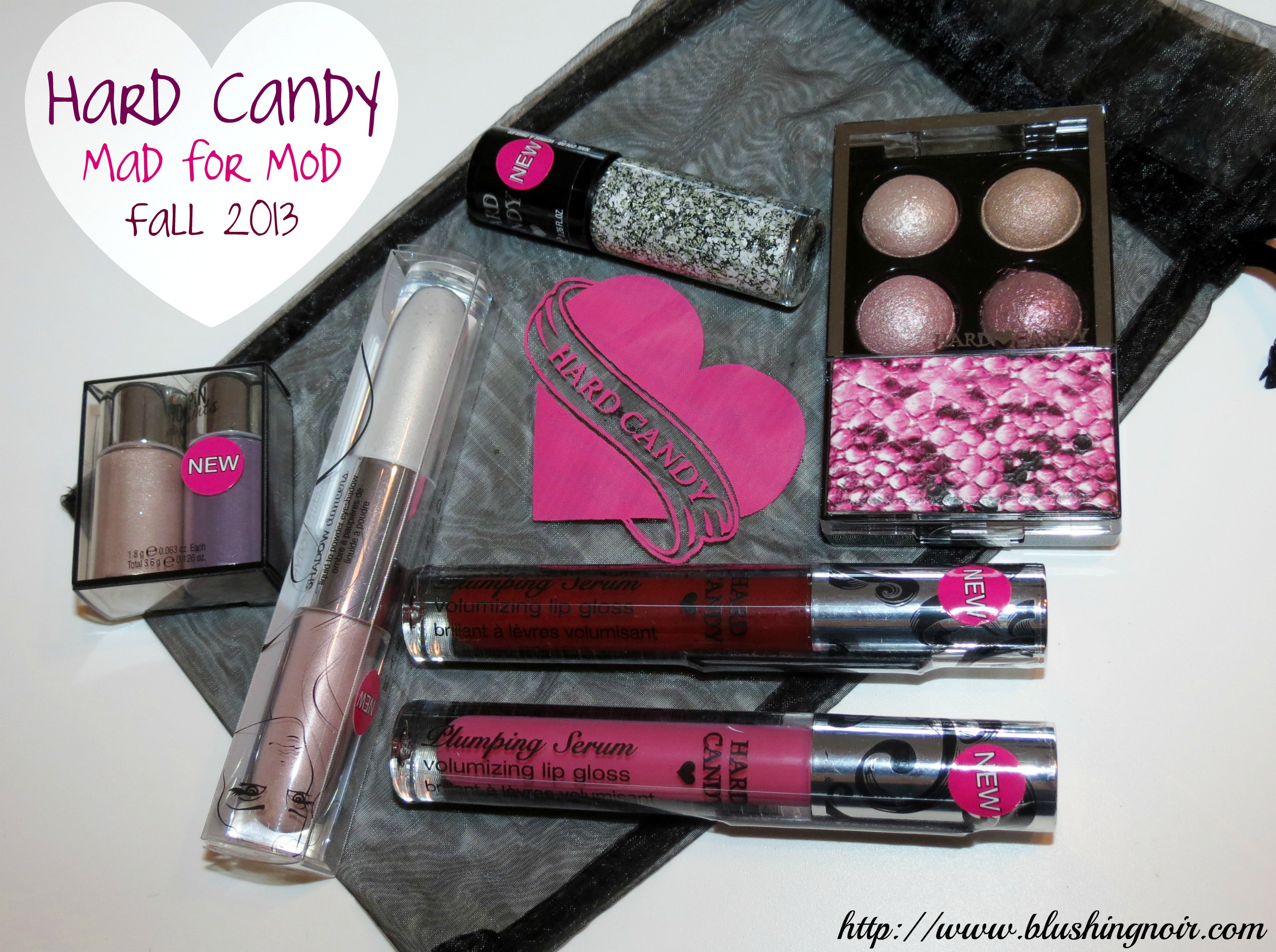 Hard Candy Mad For Mod Collection Swatches Review Fall 2013 Eyeshadow