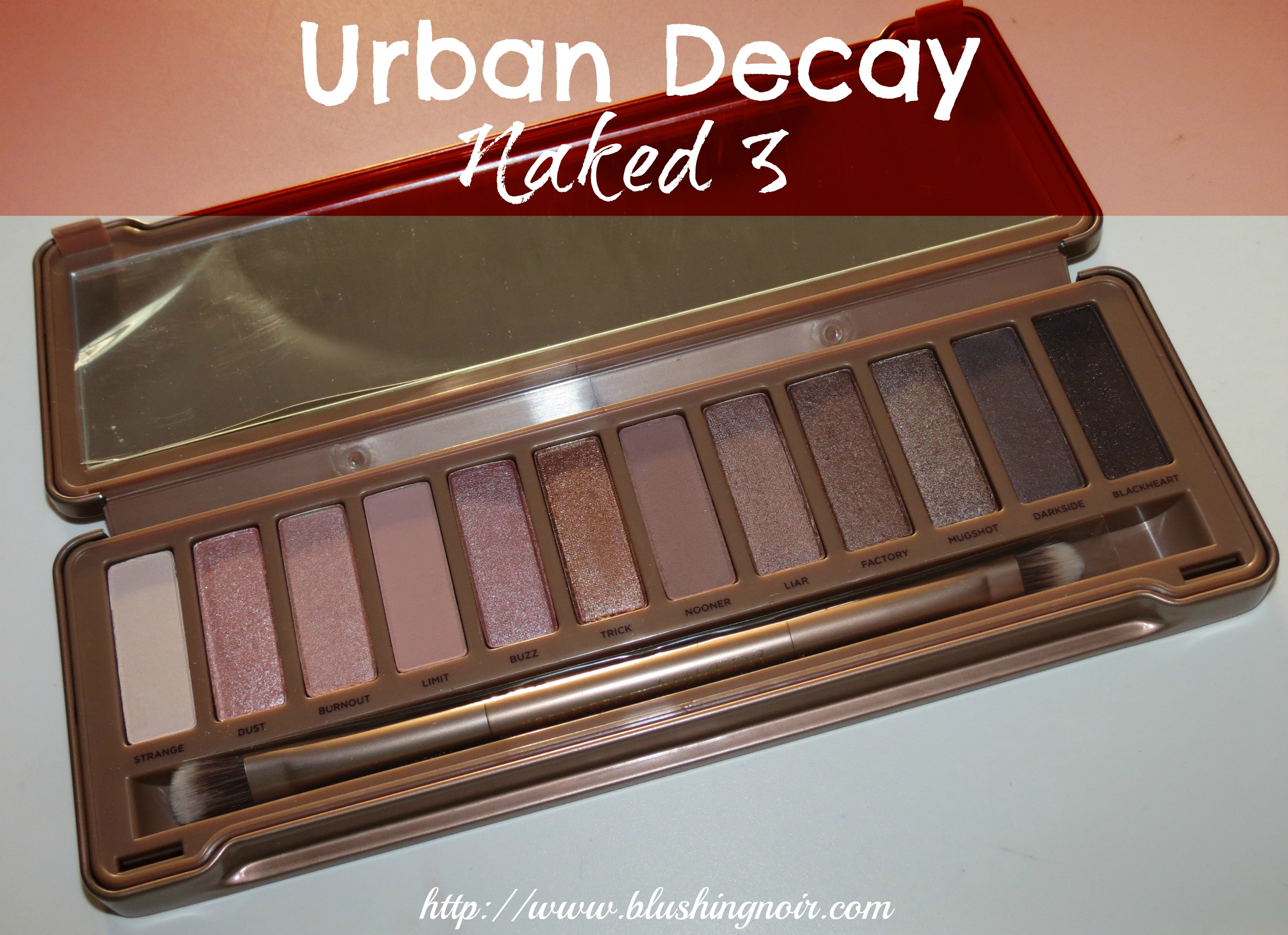 urban decay naked 3 palette swatches review eotd. Black Bedroom Furniture Sets. Home Design Ideas