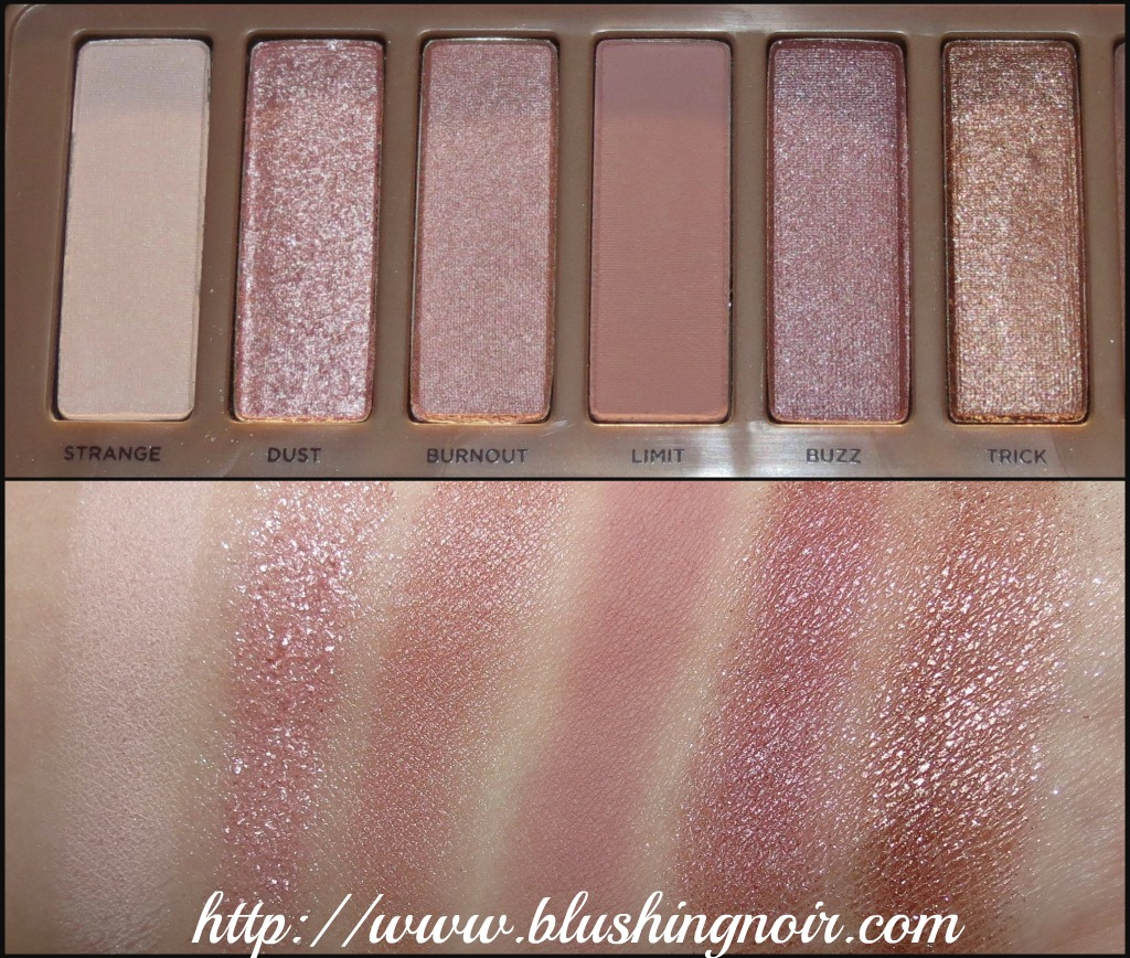 Urban Decay Naked 3 Swatches 1