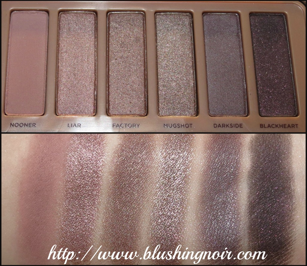 Urban Decay Naked 3 swatches 2