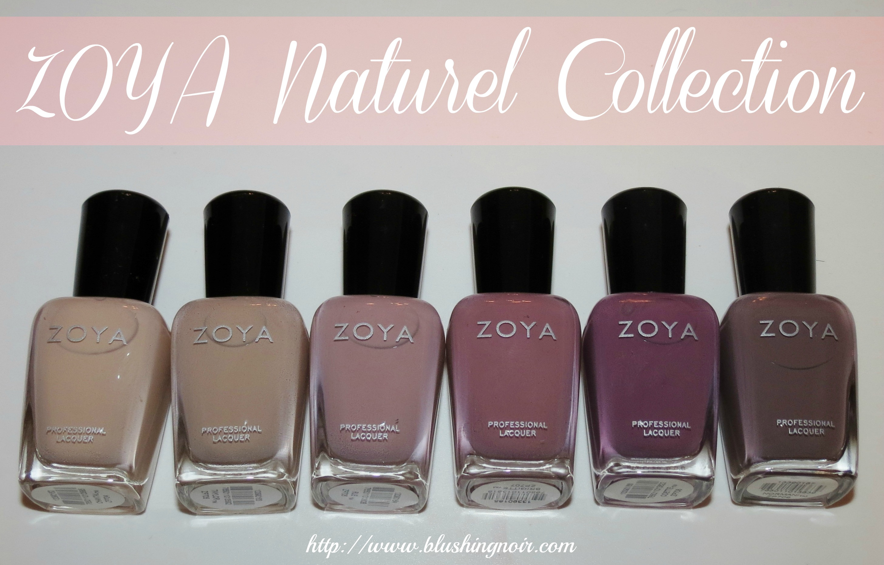 ZOYA Nail Polish Naturel Collection 2014