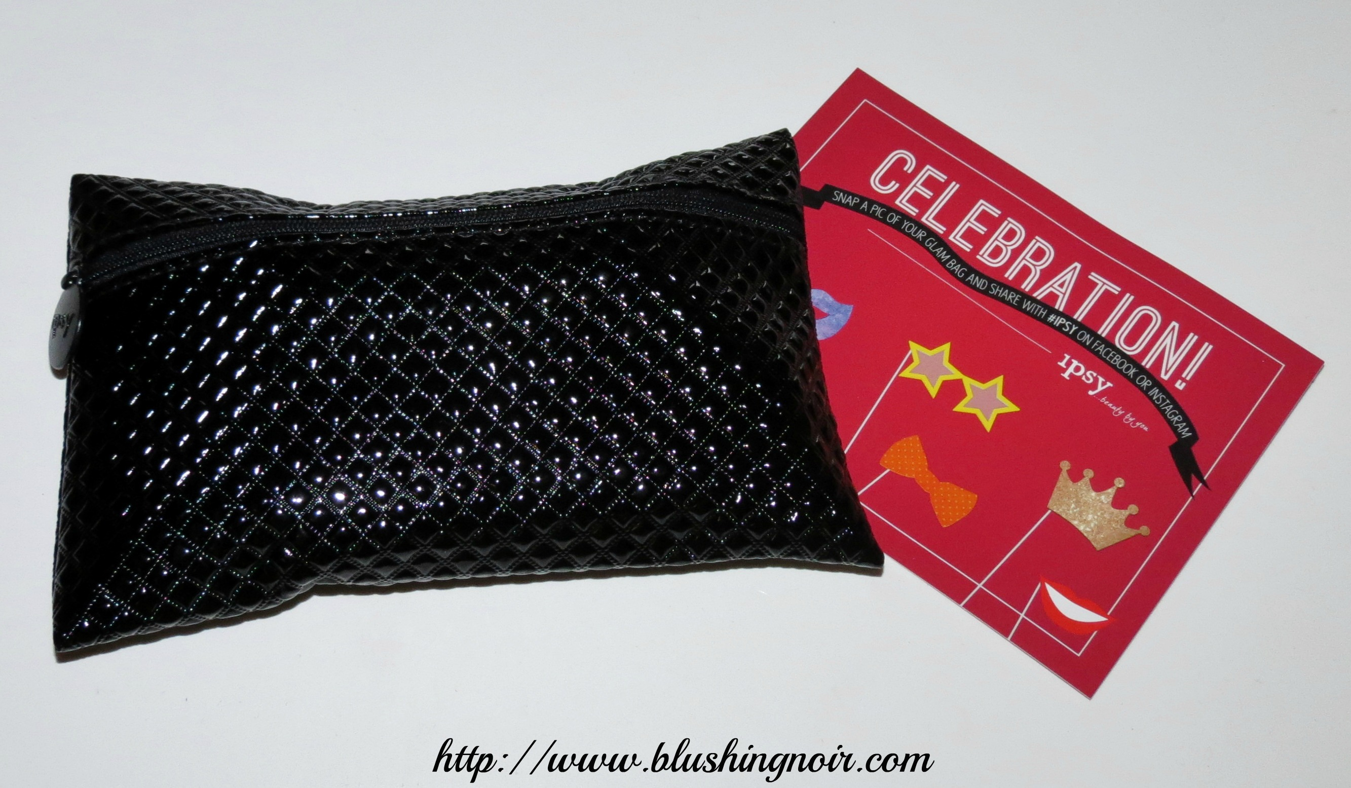 December 2013 ipsy Glam Bag Review & Swatches - Blushing Noir