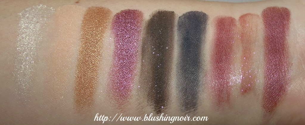 em cosmetics holiday life palette new years edition swatches