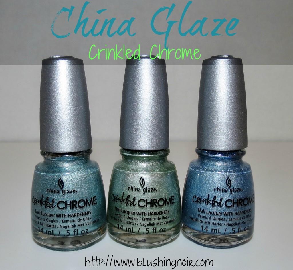 China Glaze Crinkled Chrome Nail Polish review