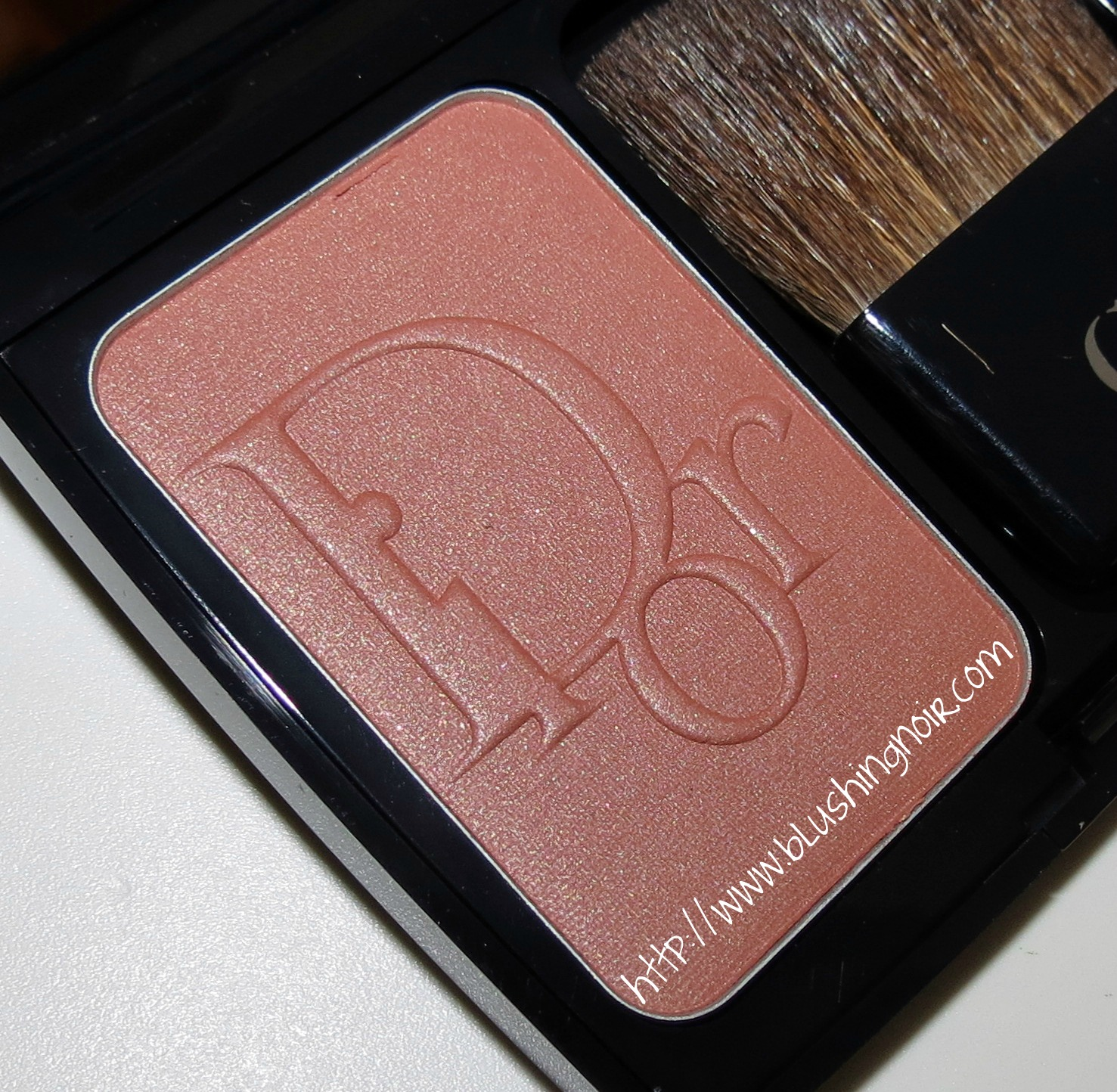 Dior 849 Mimi Bronze Vibrant Color Powder Blush Swatches ...