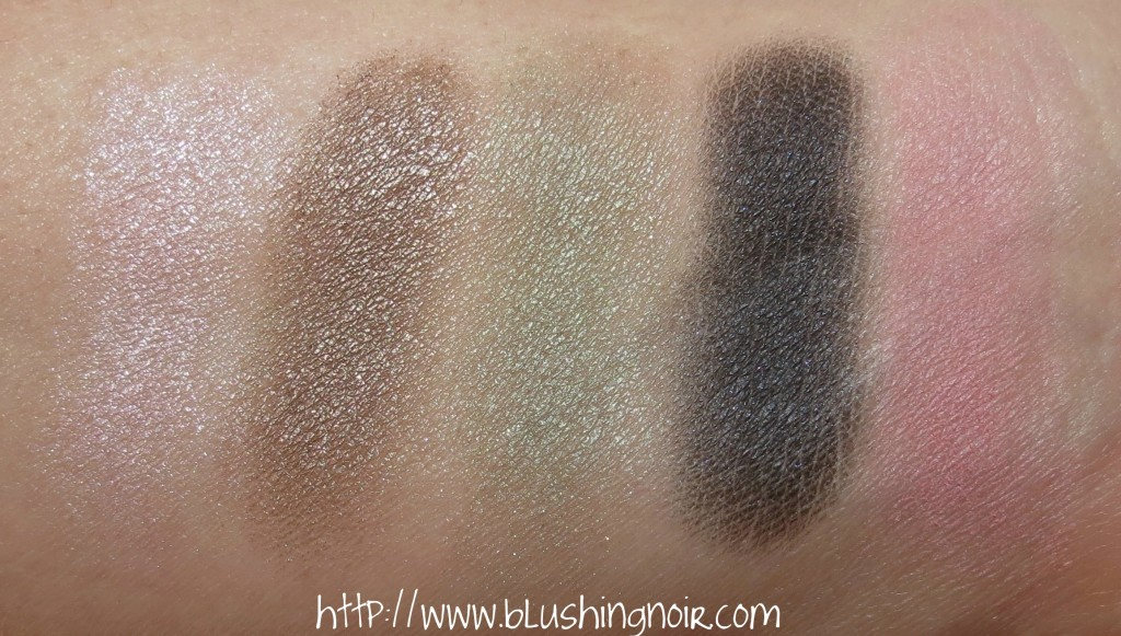 Dior Trianon 001 FAVORITE Makeup Palette Swatches