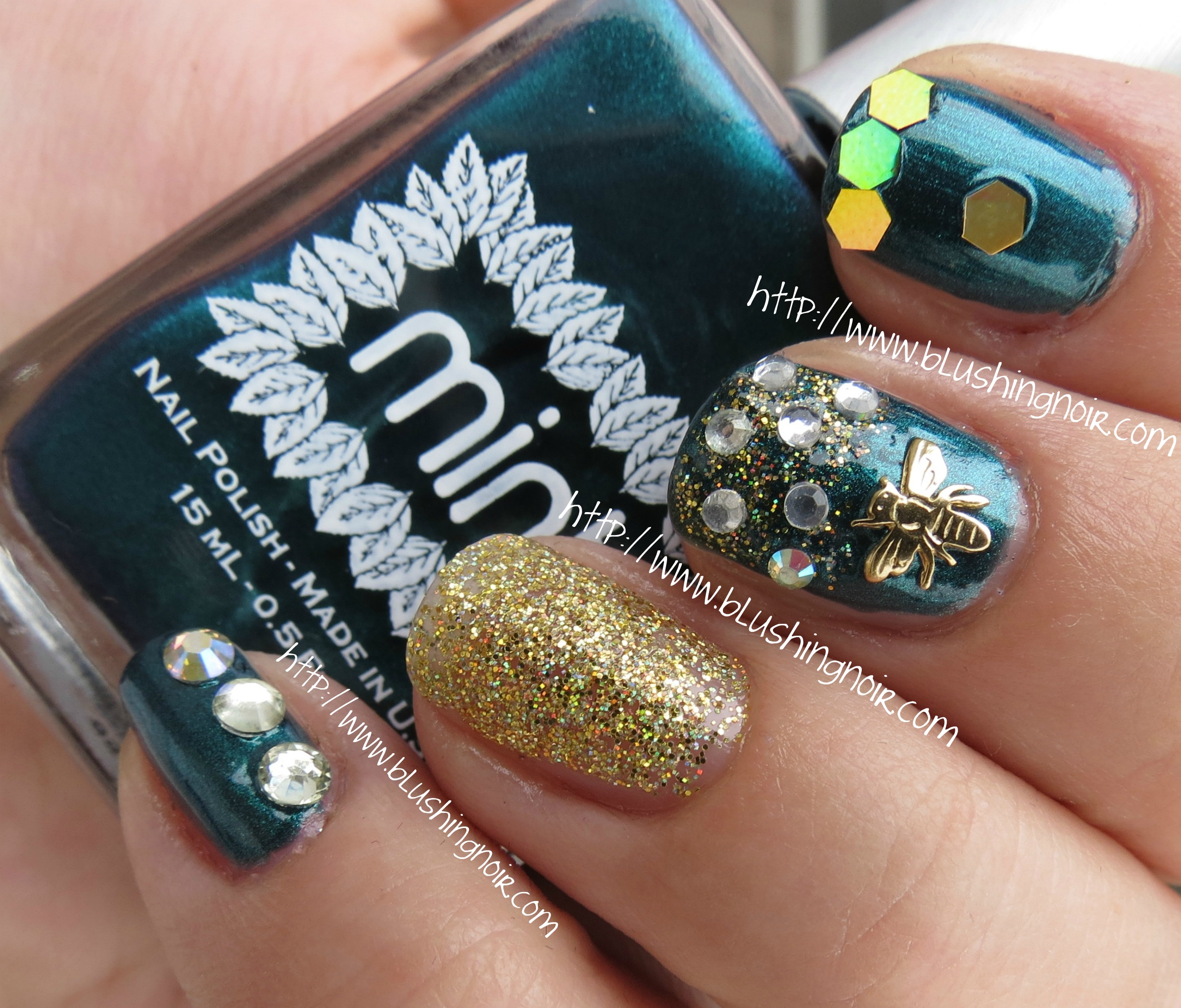 Nail Art Society Swatches Review Giveaway Blushing Noir