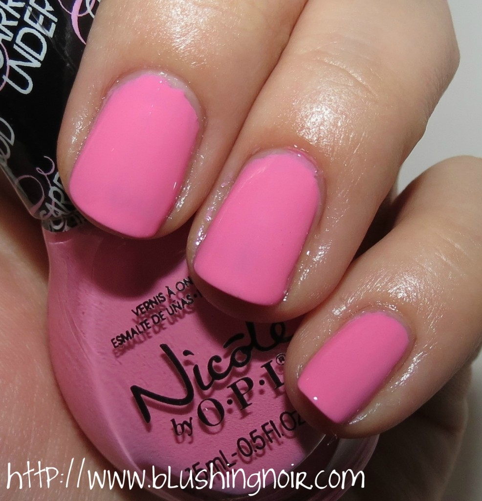 Cotton Candy Satin Fingernail Polish: Nicole By OPI Carrie Underwood Nail Polish Collection