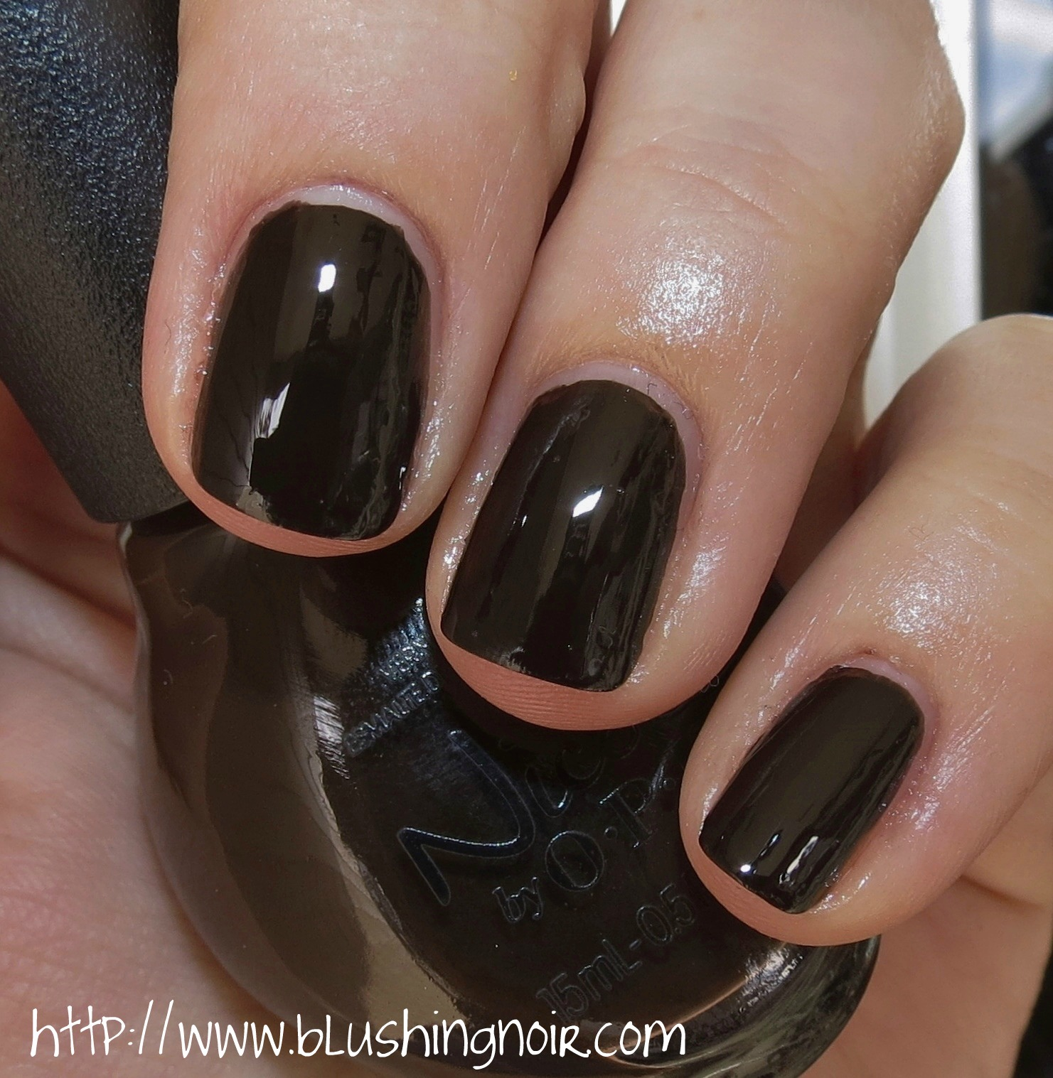 Nicole by OPI and DOVE Dark Chocolate Nail Polish Swatches ...