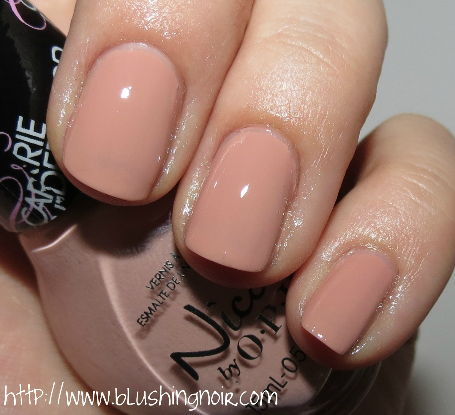 Nicole by OPI Southern Charm Nail Polish Swatches - Blushing Noir