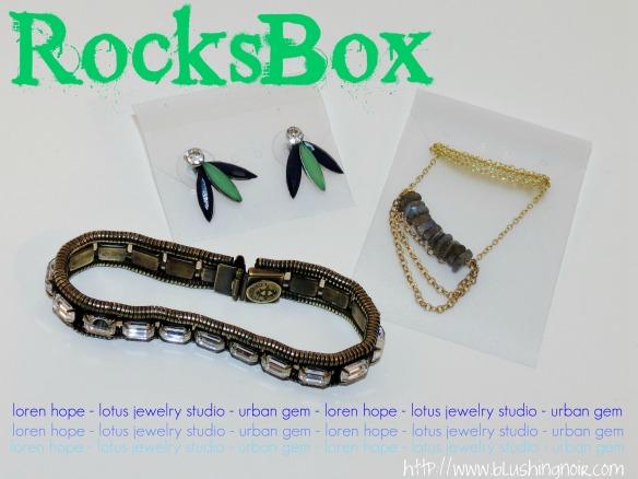 February 2014 RocksBox Photos Review Jewelry