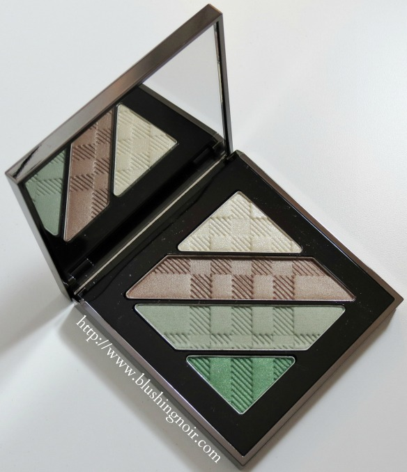 Burberry Sage Green Complete Eye Shadow Palette Review Swatches