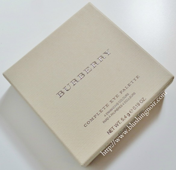 Burberry Sage Green Complete Eye Shadow Palette box