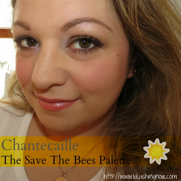 Chantecaille The Save The Bees Palette Swatches Review FOTD EOTD