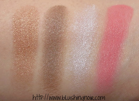 Chantecaille The Save The Bees Palette Swatches
