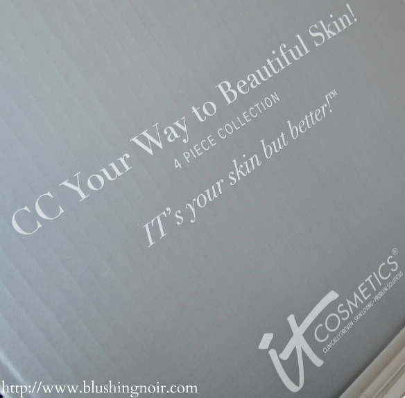It Cosmetics CC Your Way To Beautiful Skin Anti-Aging 4pc. Collection QVC