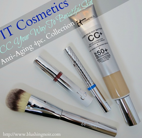 It Cosmetics CC Your Way To Beautiful Skin Anti-Aging 4pc. Collection Swatches Review