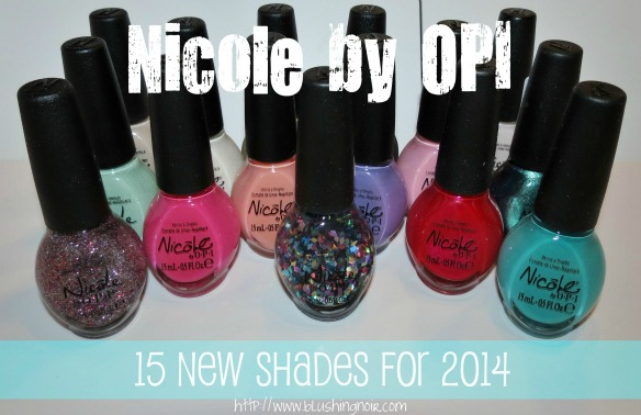 Nicole by OPI 15 New Shades for 2014