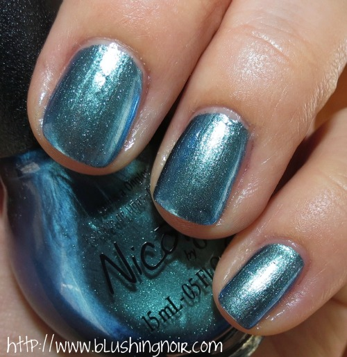 Nicole by OPI Emerald Empowered Nail Polish Swatches