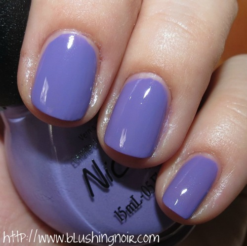 Nicole by OPI Oh Thats Just Grape Nail Polish Swatches