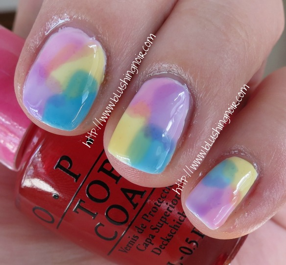 Sheer Tints by OPI Nail Polish Swatches Nail Art Watercolor Easter shade