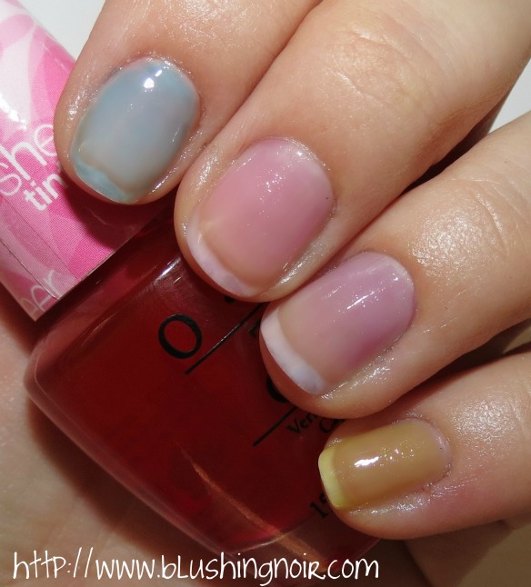 Sheer Tints by OPI Nail Polish Swatches