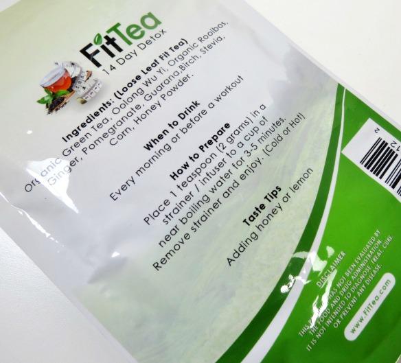 FitTea Ingredients Tips #FitTeaDetox