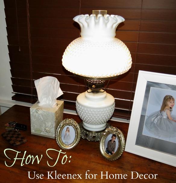How to decorate with kleenex boxes #kleenexstyle
