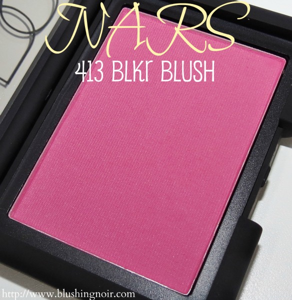 NARS 413 BLKR Blush Swatches Review Photos