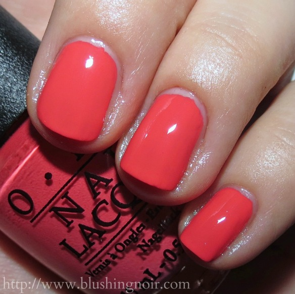 Opi Brazil Nail Polish Collection Swatches Amp Review Blushing Noir