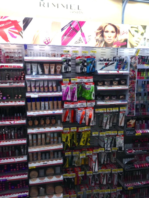Rimmel Makeup aisle walmart #beautyinspiration #cbias #shop