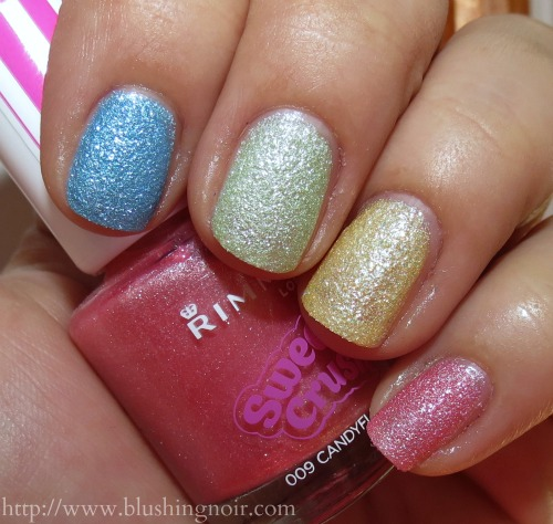 Rimmel Sweetie Crush Nail Polish Collection Swatches & Review