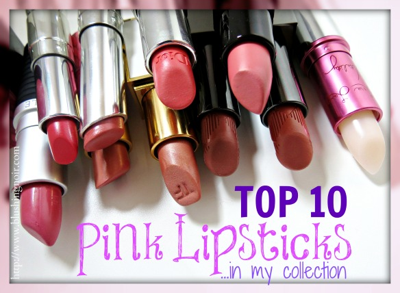 Top 10 Pink Lipsticks