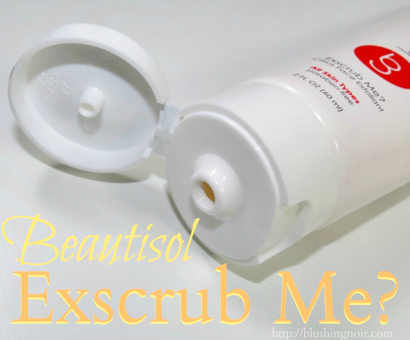 Beautisol Exscrub Me Citrus Face Exfoliant Review