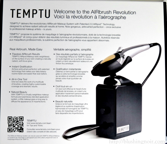 TEMPTU AIRbrush Makeup System Description