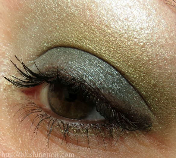 Tarina Tarantino Emerald Pretty Eyeshadow Palette Look