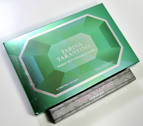 Tarina Tarantino Emerald Pretty Eyeshadow Palette Review